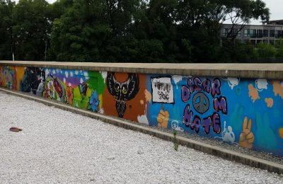 Graffiti Class of 2018 Mural