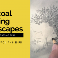 Charcoal Drawings: Landscapes at GPAC