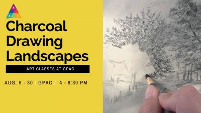 Charcoal Drawings: Landscapes at GPAC