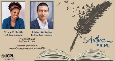 Authors at JCPL presents Poets Laureate