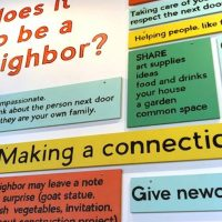 Community Conversation: What does it mean to be a good neighbor?