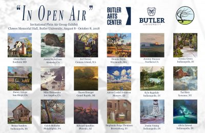 In Open Air: Plein Air Group Exhibition Guided Tou...