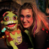 """The slightly Haunted Puppet Studio"""