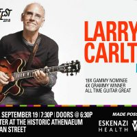 Indy Jazz Fest presents Larry Carlton at The Athenaeum