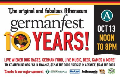 10th Annual GermanFest at The Athenaeum