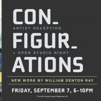 Configurations artist reception & open studio night