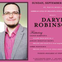 Daryl Robinson, Organist