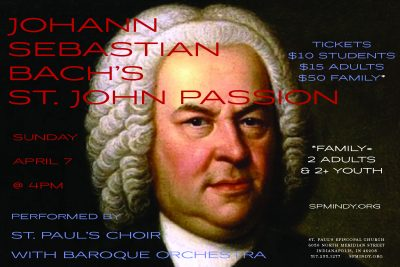J.S. Bach - St. John Passion with St. Paul's Choir and Baroque Orchestra
