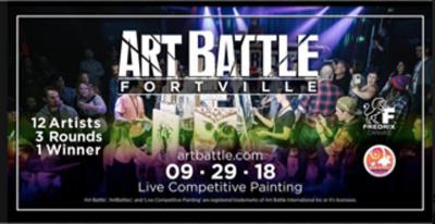 ART BATTLE FORTVILLE