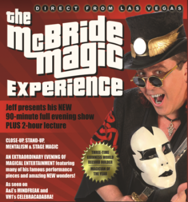 Indy Magic Presents: The McBride Magic Experience Workshop