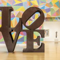 Robert Indiana and his Contemporaries Gallery Tour