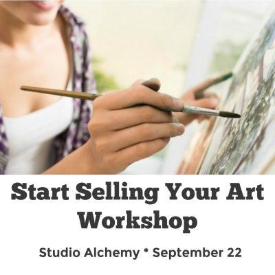 Start Selling Your Art Workshop