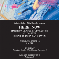 """""""Here, Now"""" at Saks Fifth Avenue Featuring C.J. Martin"""