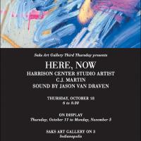 Saks Art Gallery Third Thursday Featuring C.J. Mar...