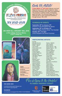 FLAVA FRESH XV! Artists' Reception & Annual Awards Ceremony