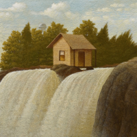 Over The Falls   Recent Paintings by Steve Paddack