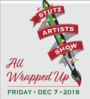 """""""All Wrapped Up"""" at the Stutz Artists Association's Annual Holiday Party"""