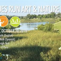 Art on the Greenways: Art Tour of Pogues Run Art and Nature Park