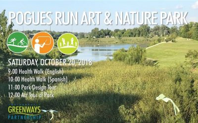 Art on the Greenways: Art Tour of Pogues Run Art a...
