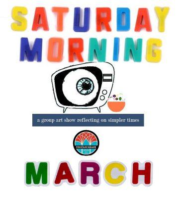 Saturday Morning group art show
