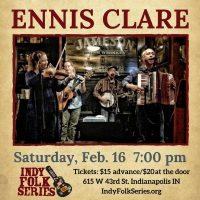 Ennis Clare at the Indy Folk Series