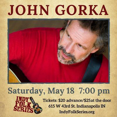 John Gorka at the Indy Folk Series