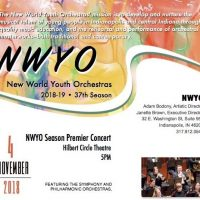 New World Youth Orchestras Season Premier