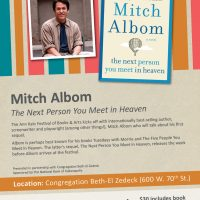 An Evening with Mitch Albom, author of The Next Person You Meet in Heaven