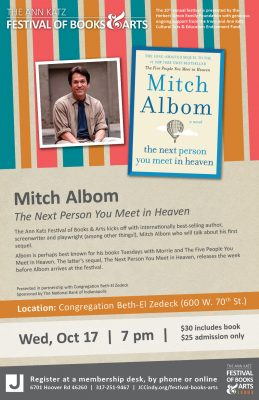 An Evening with Mitch Albom, author of The Next Pe...