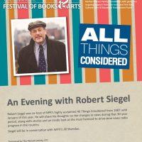 An Evening with Robert Siegel