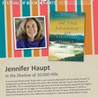 Jennifer Haupt, author of In the Shadow of 10,000 Hills