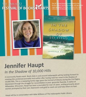 Jennifer Haupt, author of In the Shadow of 10,000 ...