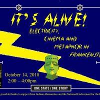It's Alive! Electricity, Cinema and Metaphor in Frankenstein