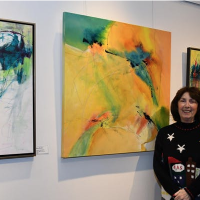 Glick Art Exhibit Opening Reception