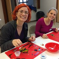 Bloomington Creative Glass Center's Holiday Glass Fusing Fest