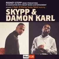Rodney Stepp presents Skypp and Damon Karl at The Jazz Kitchen
