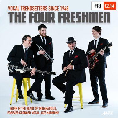The Four Freshmen return to Indianapolis, performi...