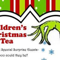 CHILDREN'S CHRISTMAS TEA WITH SANTA
