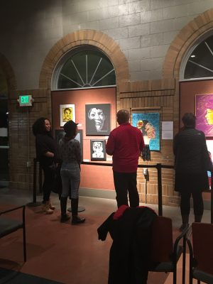 First Friday - Black History Month Art Exhibition
