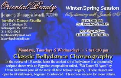 Classic Bellydance Choreography