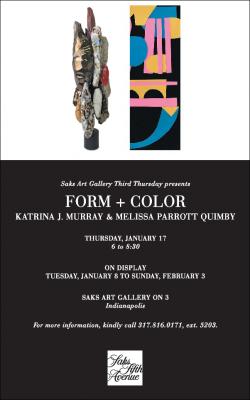 """Form + Color"" by Katrina J. Murray and Melissa Pa..."