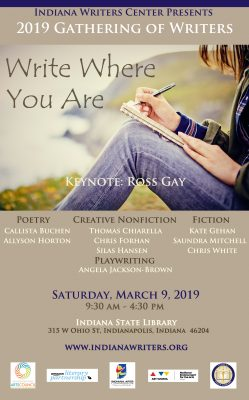 2019 Gathering of Writers: Write Where You Are