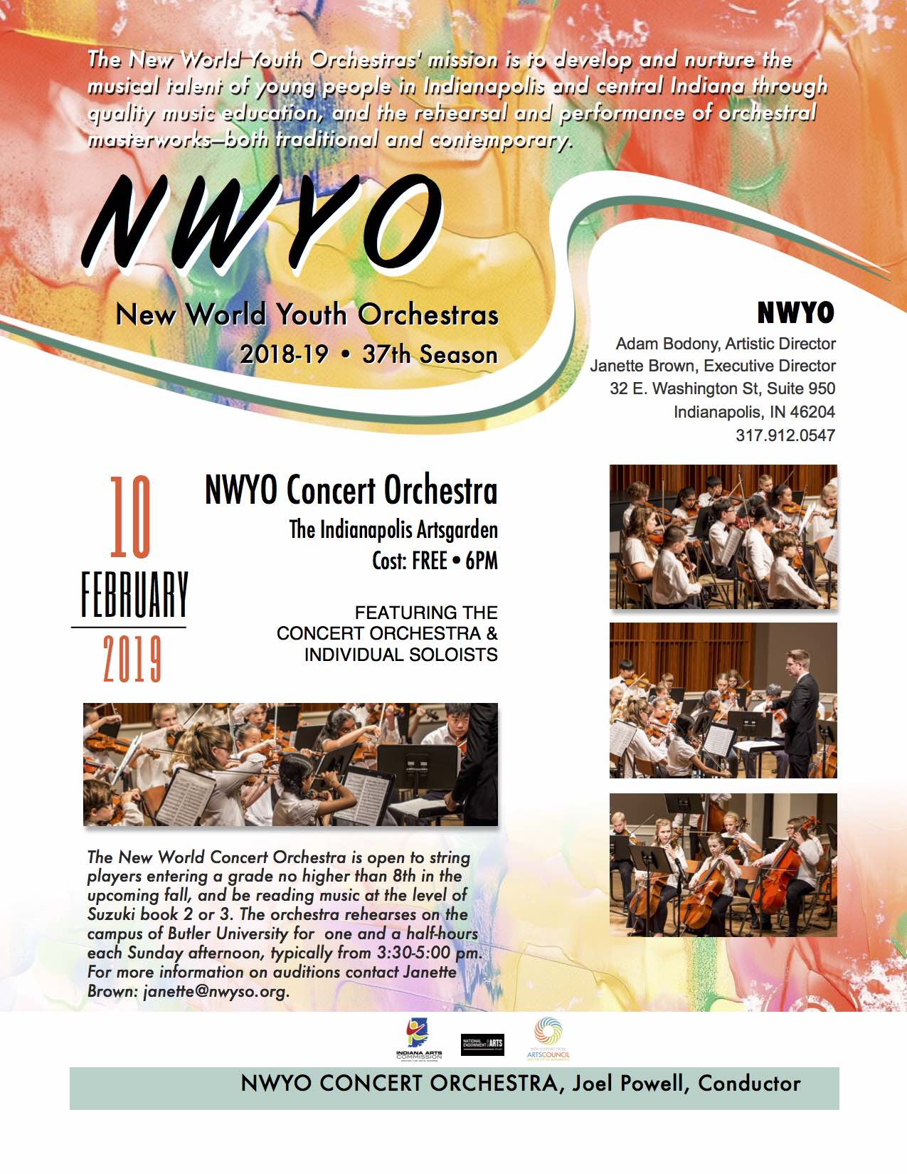 Winter Concert presented by New World Youth Orchestras