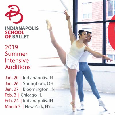 Indianapolis School of Ballet: 2019 Summer Intensive audition