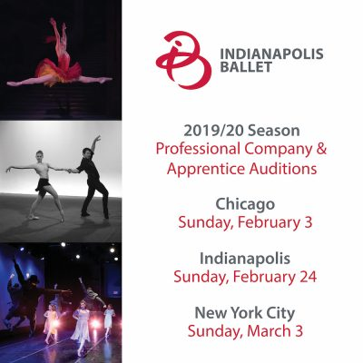 Indianapolis Ballet: Company & Apprentice auditions