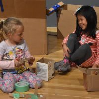 Little Learners: Creating with Cardboard