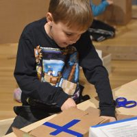 Homeschool Tuesdays: Cardboard Construction