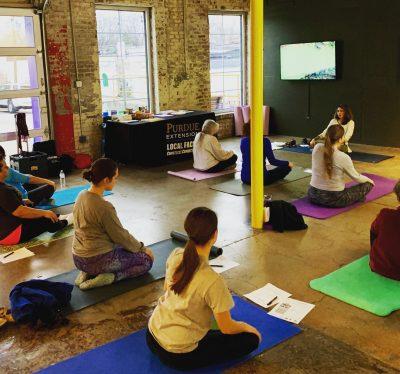 Purdue Extension Bi-Lingual Yoga & Nutrition