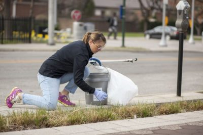 Volunteer with the Indianapolis Cultural Trail
