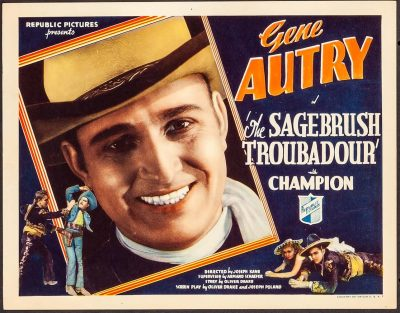 Vintage Movie Night: Sagebrush Troubadour (1935) and Git Along Little Dogies (1937)